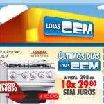 Ofertas Eletrodomésticos Lojas CEM