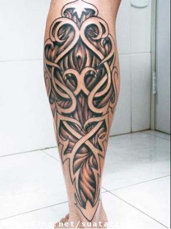 Tatuagem na Panturrilha – Fotos e Modelos
