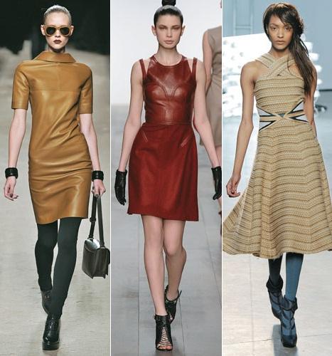 Vestidos Curtos Inverno 2012