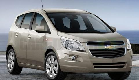 Chevrolet Spin 2012 – Informações e Fotos