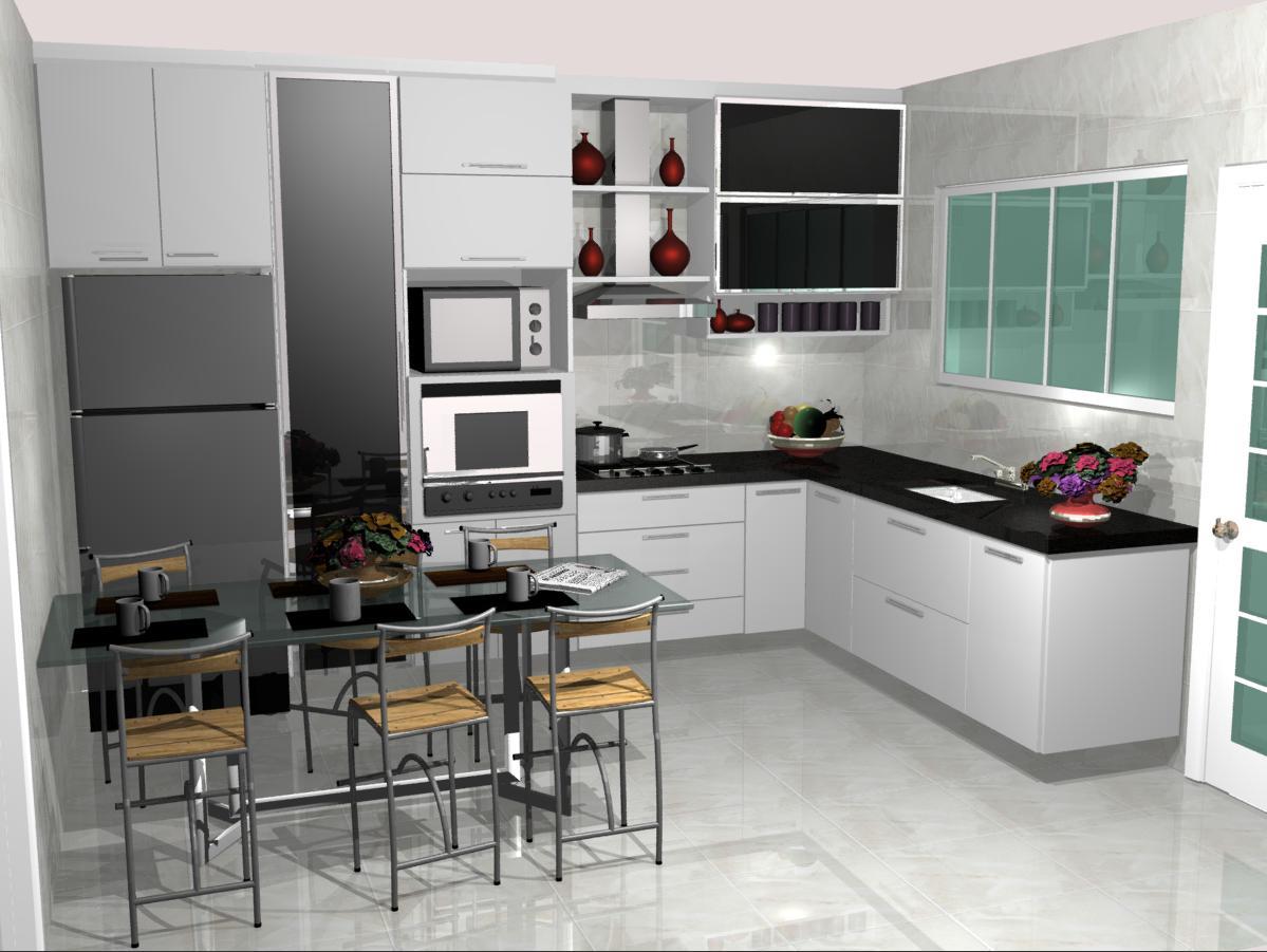 Cozinhas Planejadas Pequenas – Fotos e Modelos #673E30 1199 901