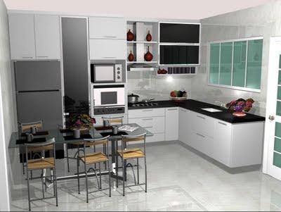 Móveis para Cozinhas Pequenas – Dicas e Fotos