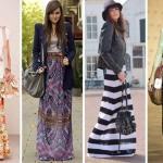 Saias Longas Femininas 2012 – Tendências e Fotos
