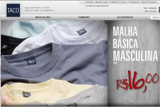 Comprar na Taco Jeans – www.taco.com.br