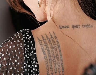 Tatuagens Escritas em Árabe – Dicas e Fotos