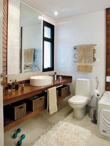 Banheiros Pequenos Decorados  Dicas e Fotos -> Banheiros Simples Decorados Pequenos