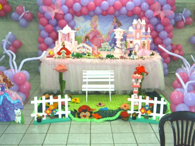decoracao festa barbie : decoracao festa barbie:Decoracao De Aniversario Da Barbie