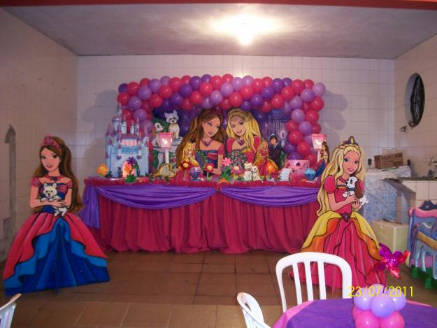 decoracao festa barbie – Doitricom