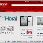 Site Lojas Berlanda – www.berlanda.com.br
