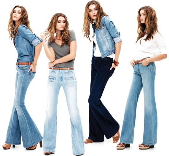 Tendncias de Jeans Inverno 2012 &#8211; Dicas e Fotos