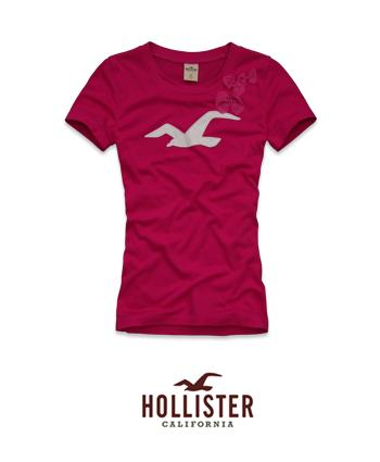 Camisetas blusas femininas brancas hollister by Hollister design