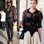 Blusas Transparentes Femininas – Tendências 2012