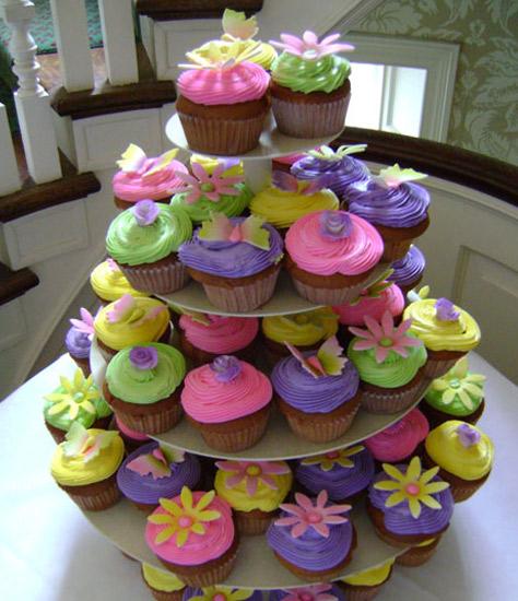 Decoração de Festas com Cupcakes – Fotos e Modelos