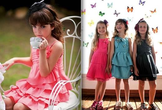 Moda Infantil Verão 2013 – Dicas e Fotos