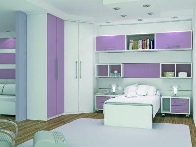Fotos de quarto pequeno de apartamento planejado