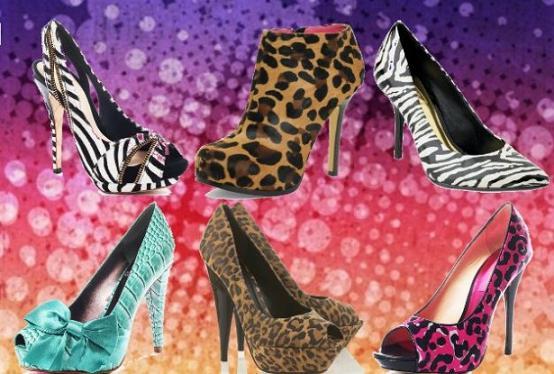 Sapatos Estampados Tendências 2013 – Fotos e Modelos