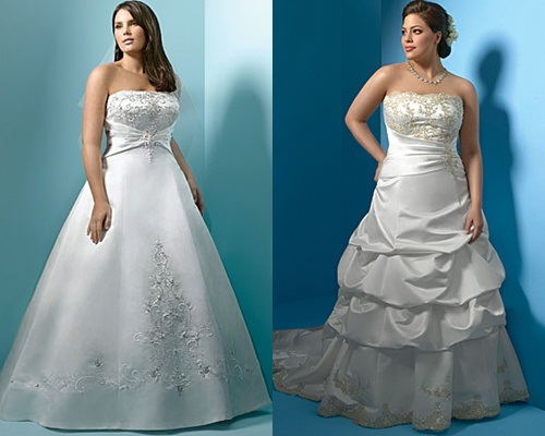 Vestidos de Noivas Plus Size &#8211; Tendncias 2013