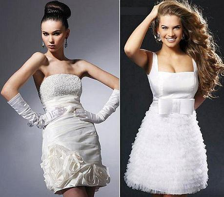 Vestidos de Noiva Curtos – Tendências 2013
