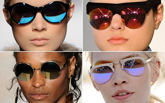 Óculos Espelhados Coloridos – Dicas e Fotos