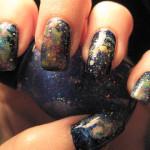 Unhas Galaxy Print: Passo a Passo e Modelos