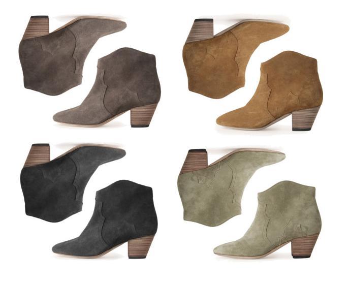 dicker boots isabel marant fotos. Black Bedroom Furniture Sets. Home Design Ideas