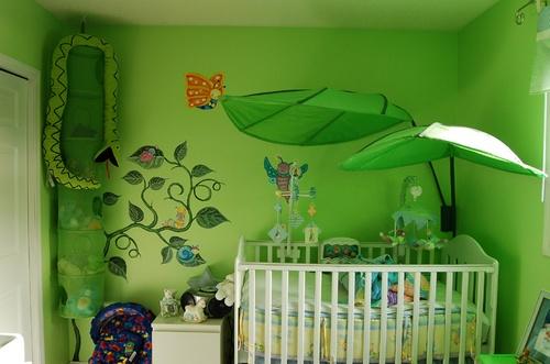 Decoração para Quarto de Bebê, Dicas e Fotos ~ Quarto Verde E Azul De Bebe