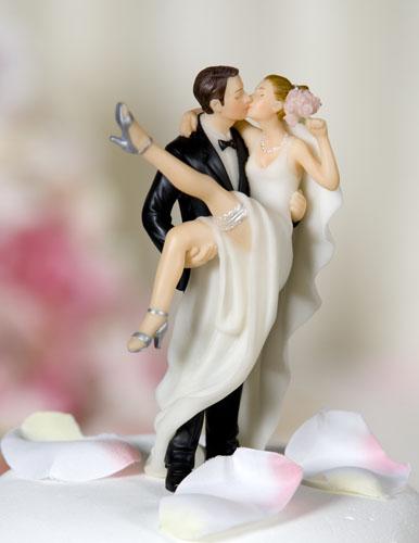 Enfeites para Bolos de Casamento, Fotos e Modelos