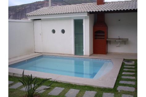Acabamento para casas pequenas