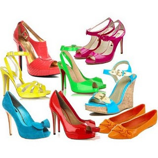compre online Novos Produtos tons de sapatos fluorescentes