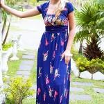 Vestido Barrado Floral, Dicas e Fotos