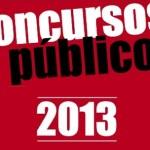 Concurso 2013, Dicas de Concursos Públicos para 2013