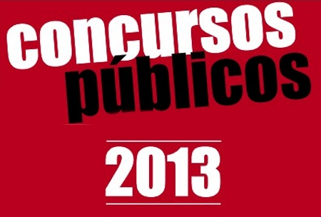 Concursos Públicos Abertos 2013