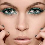 Delineador Colorido, Maquiagem para o Verão 2013
