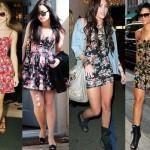 Vestidos Florais Curtos 2013 – Dicas e Fotos