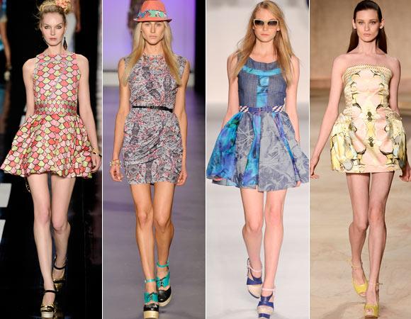 Vestidos Verão Curtos 2013, Fotos