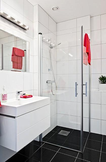 decoracao e banheiro:Decoração de Banheiros Simples e Barato, Dicas e Fotos