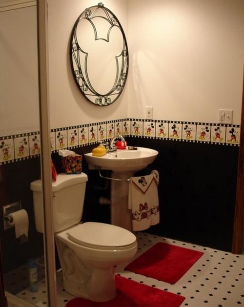 Decoração de Banheiros Simples e Barato, Dicas e Fotos -> Decoracao De Banheiro Simples E Barato