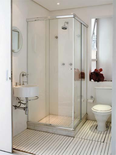 Decoração de Banheiros Simples e Barato, Dicas e Fotos -> Banheiros Muito Simples