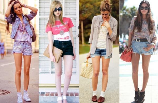 Shorts Jeans Verão 2013, Dicas e Fotos