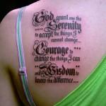Letras para Tatuagem Feminina: Dicas e Fotos