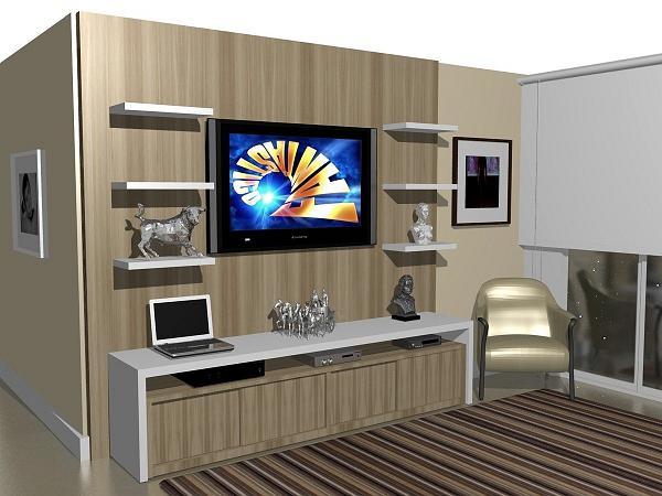 Painel para TV LCD e LED Fotos e Modelos
