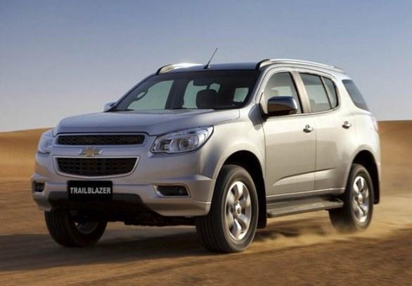 Chevrolet Trailblazer 2013: Preços e Fotos