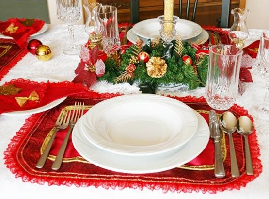 Decoração de Mesa de Jantar para Natal, Dicas e Fotos