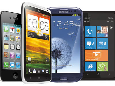 Novidades de Smartphones para 2013