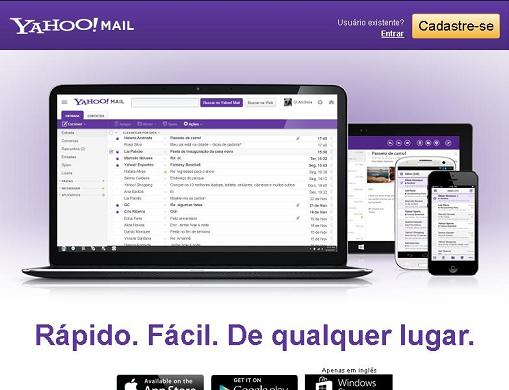 Yahoo Mail Login: Entrar no Email