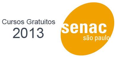 Cursos Gratuitos Senac SP 2013