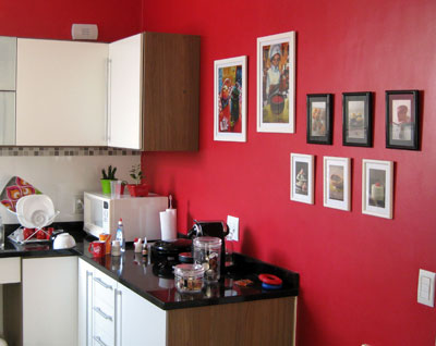 Decorao com Quadros na Cozinha: Dicas e Fotos
