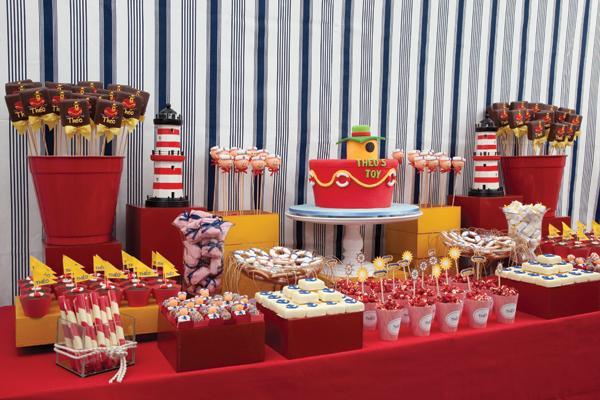 Mesas decoradas para aniversario infantil e adulto for Mesa infantil carrefour