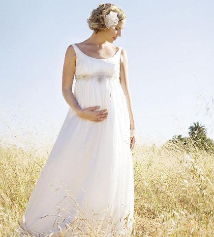 Vestidos de Noivas para Gestantes: Dicas, Fotos