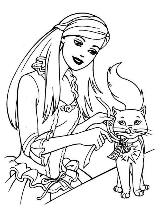 desenhos da barbie para imprimir e colorir
